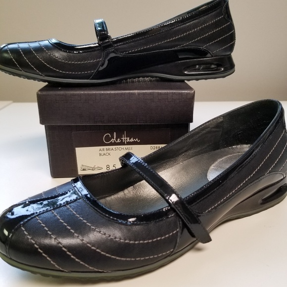 d9f0c8dd579 Cole Haan Shoes - Cole Haan Air Bria Stitch Mary Jane Flats